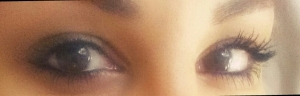 Left Eye Maxfactor Right Eye In Extreme Dimension.
